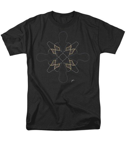 Just Dotty - Dark T-shirt Men's T-Shirt  (Regular Fit) by Lori Kingston
