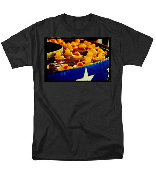 Just Ducky Men's T-Shirt  (Regular Fit) by Toni Hopper