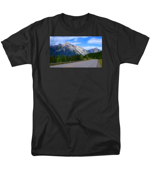 Kananaskis Country Men's T-Shirt  (Regular Fit) by Heather Vopni