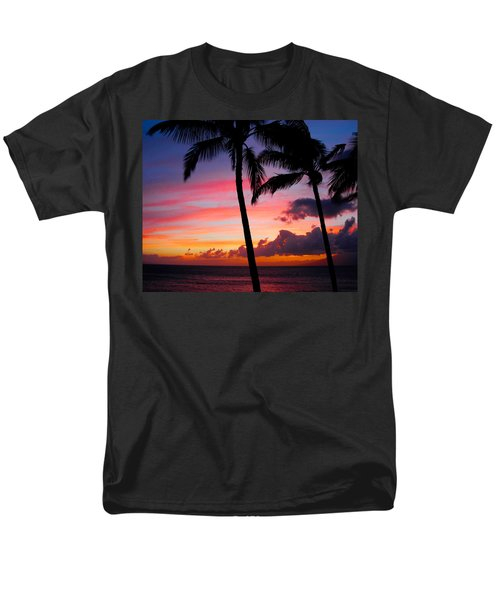Kaanapali Sunset  Kaanapali  Maui Hawaii Men's T-Shirt  (Regular Fit) by Michael Bessler