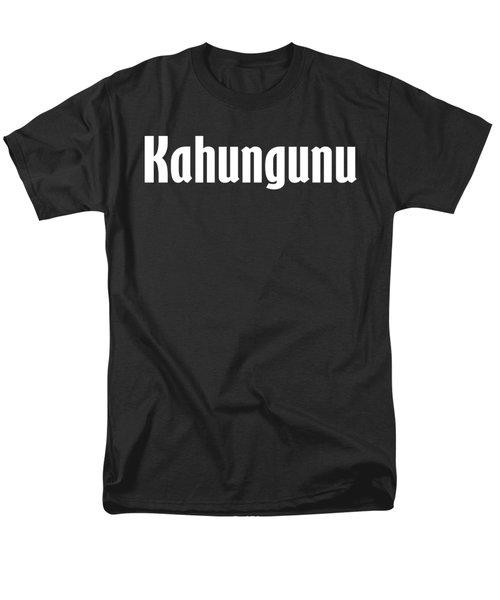 Kahungunu Men's T-Shirt  (Regular Fit)