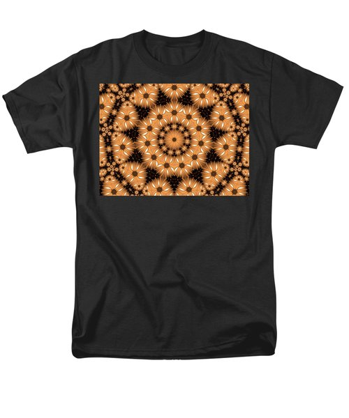 Men's T-Shirt  (Regular Fit) featuring the digital art Kaleidoscope 131 by Ron Bissett
