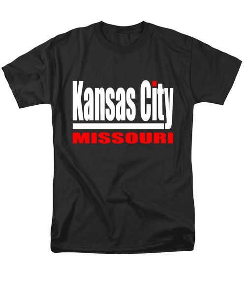 Kansas City Missouri Design Men's T-Shirt  (Regular Fit)