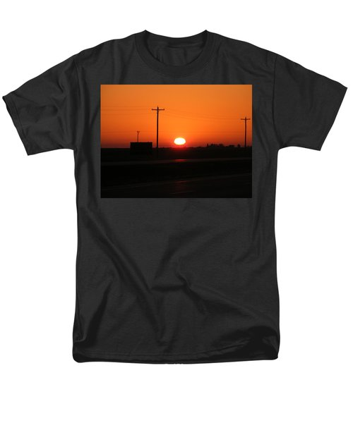 Kansas Sunrise Men's T-Shirt  (Regular Fit) by Adam Cornelison