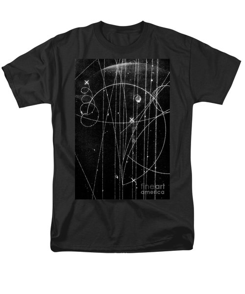 Kaon Proton Collision Men's T-Shirt  (Regular Fit) by SPL and Photo Researchers