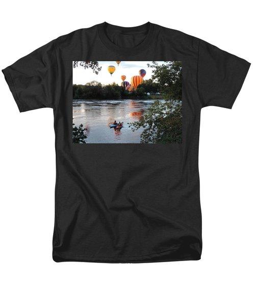 Kayaks And Balloons Men's T-Shirt  (Regular Fit)