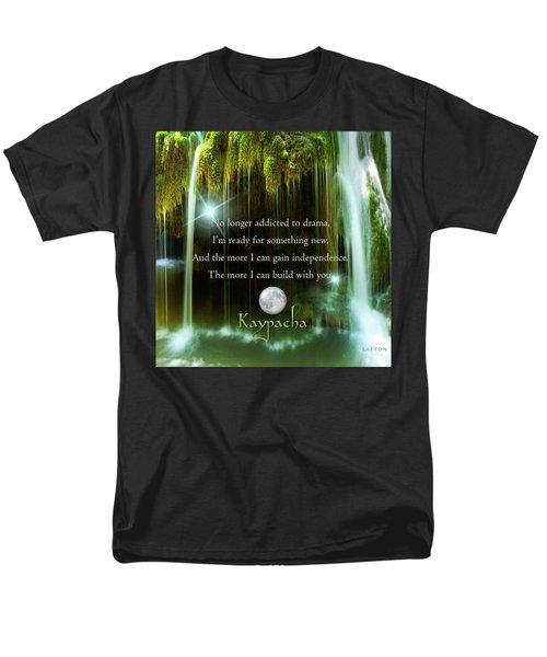 Kaypacha - November 10, 2016 Men's T-Shirt  (Regular Fit) by Richard Laeton