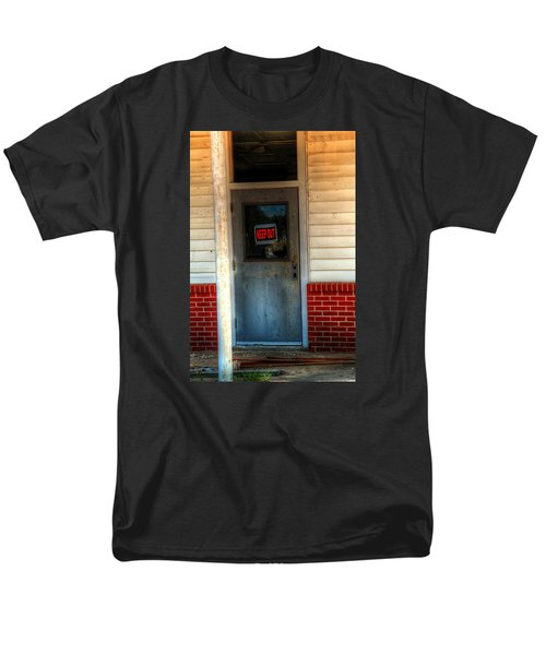 Keep Out Men's T-Shirt  (Regular Fit) by Ester  Rogers