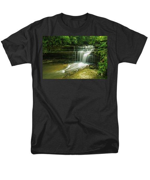 Kentucky Waterfalls Men's T-Shirt  (Regular Fit) by Ulrich Burkhalter
