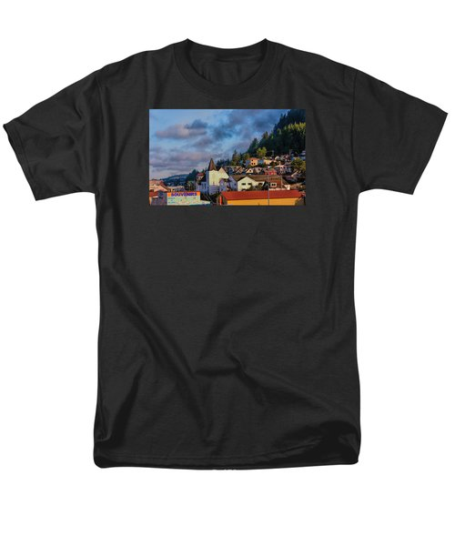 Men's T-Shirt  (Regular Fit) featuring the photograph Ketchikan Morning by Lewis Mann