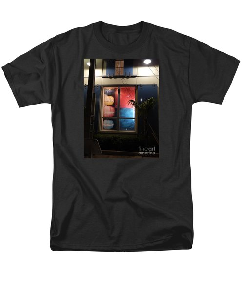 Key West Window Men's T-Shirt  (Regular Fit) by Expressionistart studio Priscilla Batzell
