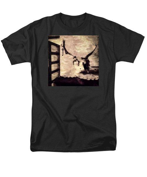 Keys To My Heart 2 Men's T-Shirt  (Regular Fit) by Ronda Broatch