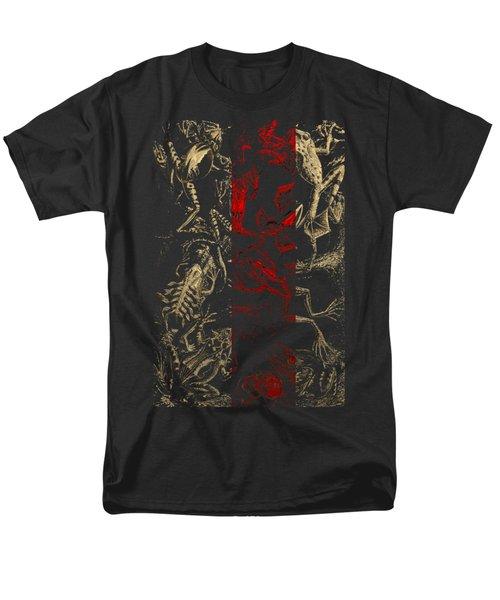 Kingdom Of The Golden Amphibians Men's T-Shirt  (Regular Fit) by Serge Averbukh