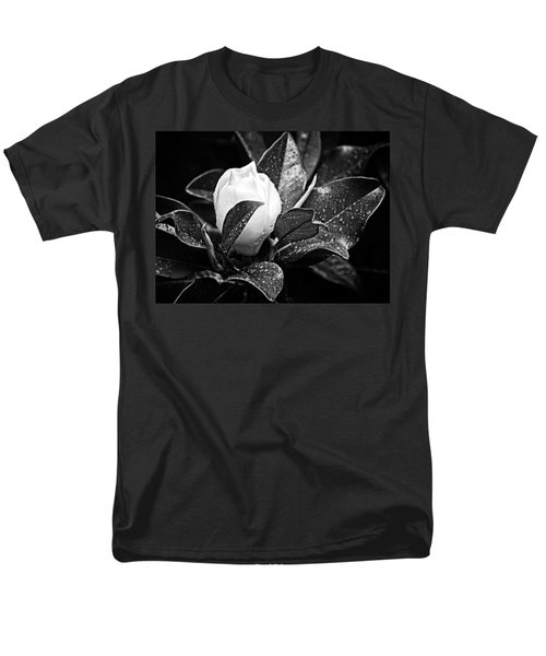 Men's T-Shirt  (Regular Fit) featuring the photograph Kissed By Rain by Carolyn Marshall
