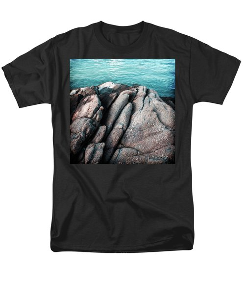 Men's T-Shirt  (Regular Fit) featuring the photograph Ko Samet Rocks by Joseph Westrupp