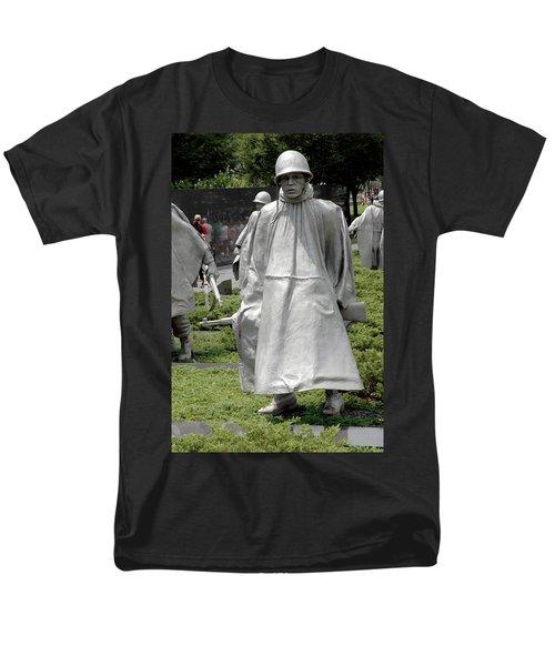 Korean War Memorial Men's T-Shirt  (Regular Fit) by LeeAnn McLaneGoetz McLaneGoetzStudioLLCcom