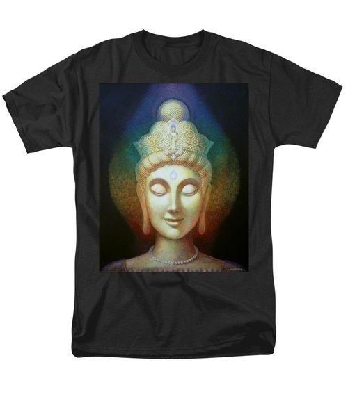 Kuan Yin's Light Men's T-Shirt  (Regular Fit) by Sue Halstenberg