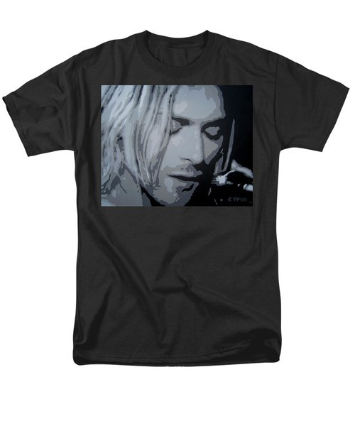Kurt Cobain Men's T-Shirt  (Regular Fit) by Ashley Price