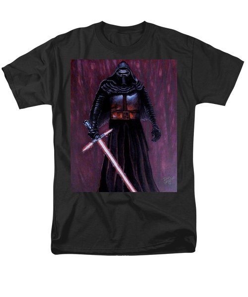 Men's T-Shirt  (Regular Fit) featuring the painting Kylo In Red by Dan Wagner
