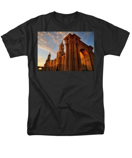 Men's T-Shirt  (Regular Fit) featuring the photograph La Hora Magia by Skip Hunt