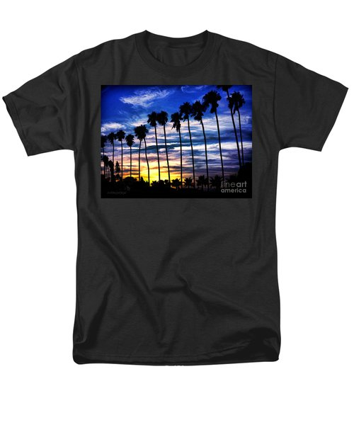 La Jolla Silhouette - Digital Painting Men's T-Shirt  (Regular Fit) by Sharon Soberon