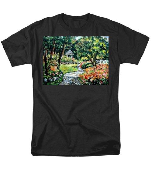 La Paloma Gardens Men's T-Shirt  (Regular Fit) by Alexandra Maria Ethlyn Cheshire