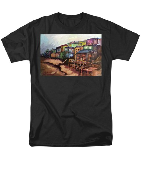 La Perla De Puerto Rico Men's T-Shirt  (Regular Fit) by Janet Garcia