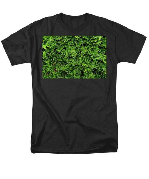 Life In Green Men's T-Shirt  (Regular Fit)