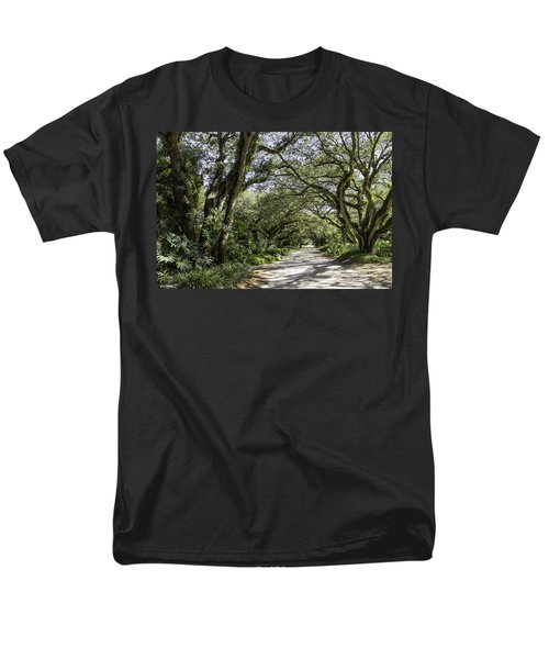 Ladybug Lane Men's T-Shirt  (Regular Fit) by Fran Gallogly