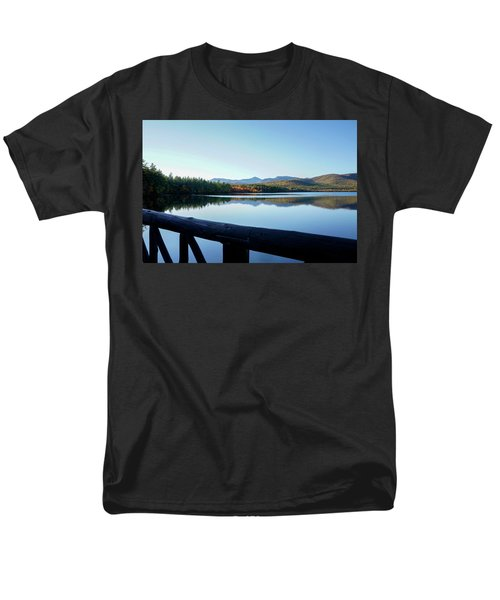 Lake Chocorua Autumn Men's T-Shirt  (Regular Fit) by Nancy De Flon
