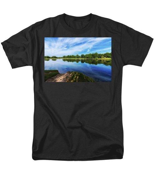 Men's T-Shirt  (Regular Fit) featuring the photograph Lake View by Tom Mc Nemar