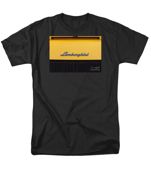 Lamborghini Men's T-Shirt  (Regular Fit) by David Millenheft