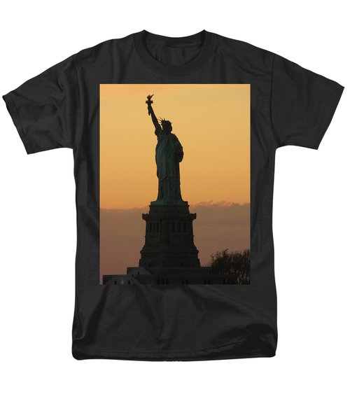 Men's T-Shirt  (Regular Fit) featuring the photograph Land Of The Free And The Brave by Emmy Marie Vickers