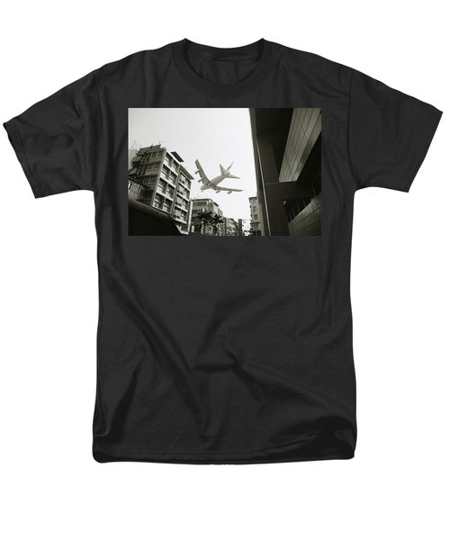 Landing In Hong Kong Men's T-Shirt  (Regular Fit) by Shaun Higson