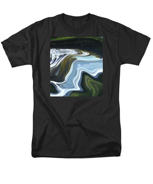 Lands End Men's T-Shirt  (Regular Fit) by Kerri Ligatich