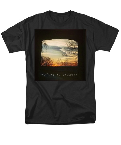 #landscape #gateway #historicalplace Men's T-Shirt  (Regular Fit) by Mandy Tabatt