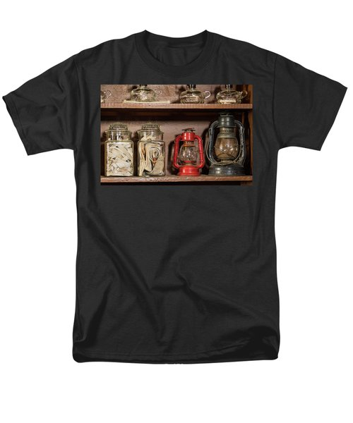 Lanterns And Wicks Men's T-Shirt  (Regular Fit) by Jay Stockhaus