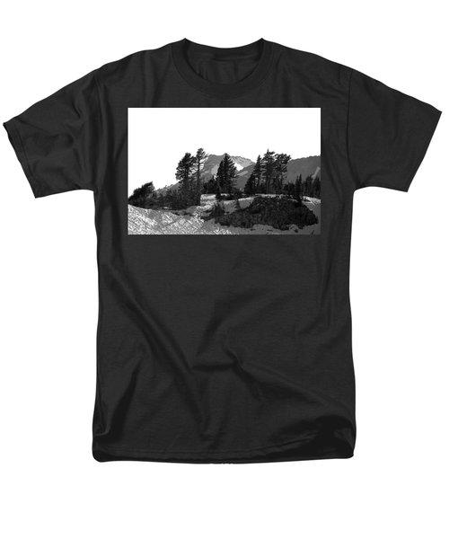 Men's T-Shirt  (Regular Fit) featuring the photograph Lassen National Park by Lori Seaman