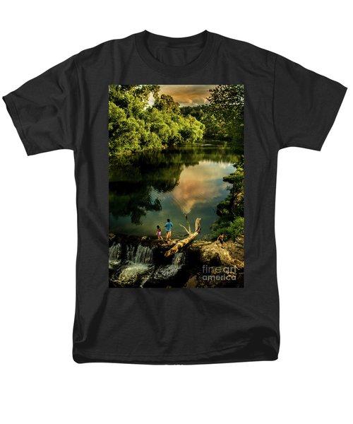 Last Seconds Of Summer Men's T-Shirt  (Regular Fit) by Robert Frederick