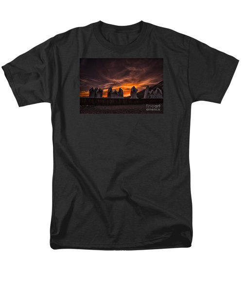 Men's T-Shirt  (Regular Fit) featuring the photograph Last Supper At Sunset by Janis Knight