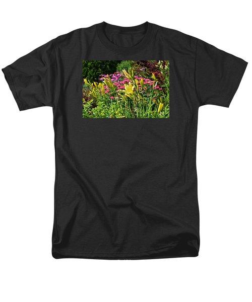 Late July Garden 1 Men's T-Shirt  (Regular Fit) by Janis Nussbaum Senungetuk