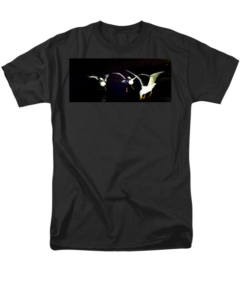 Men's T-Shirt  (Regular Fit) featuring the photograph Late Night Snack by Mike Breau