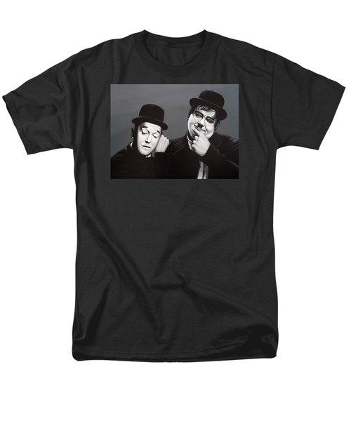 Laurel And Hardy Men's T-Shirt  (Regular Fit) by Paul Meijering