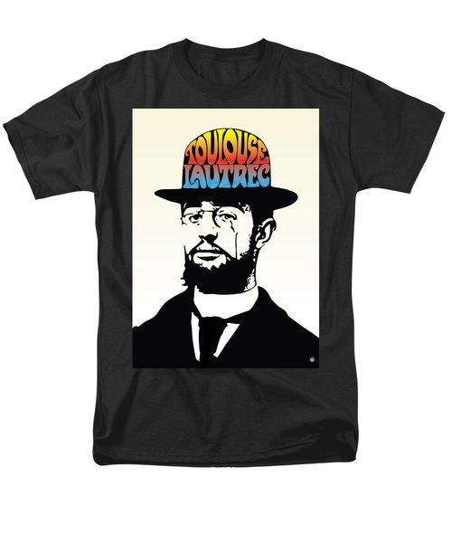 Lautrec Men's T-Shirt  (Regular Fit) by Gary Grayson