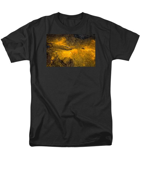 Men's T-Shirt  (Regular Fit) featuring the photograph Lava by M G Whittingham
