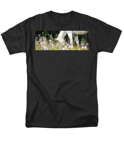 Lavender Dreams Men's T-Shirt  (Regular Fit) by Joan Davis