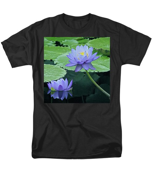 Men's T-Shirt  (Regular Fit) featuring the photograph Lavender Enchantment by Byron Varvarigos