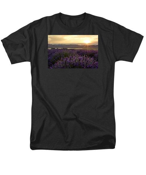 Lavender Glow Men's T-Shirt  (Regular Fit) by Chad Dutson