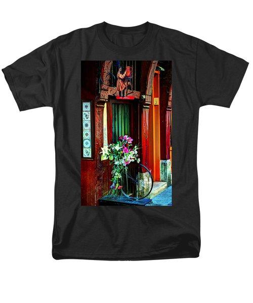 Men's T-Shirt  (Regular Fit) featuring the photograph Le Potier Rouen France by Tom Prendergast