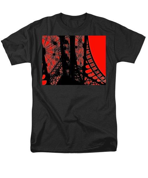 Men's T-Shirt  (Regular Fit) featuring the photograph Le Rouge Et Le Noir by Danica Radman